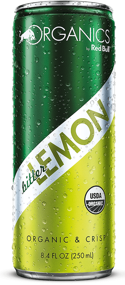 ORGANICS BY RED BULL BITTER LEMON