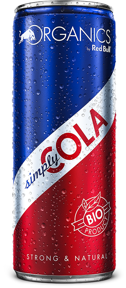 Organics Simply Cola by Red Bull