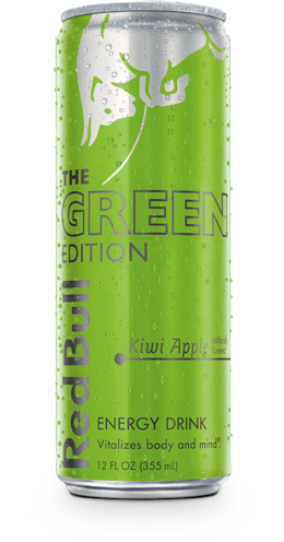 The Red Bull Green Edition